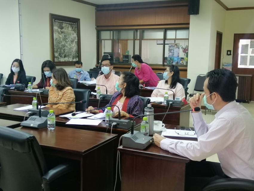 การประชุมคณะทำงานประเมินคุณธรรมและความโปร่งใสในการดำเนินงานของเทศบาลนครระยอง